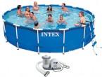 בריכת שחיה עם משאבה משודרגת Frame pool 457X107IMP
