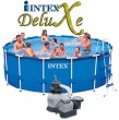 בריכת שחיה Intex Frame Pool 457X122 עם מסנן חול