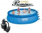בריכת שחיה Intex Easy Set 457X91 Premium  עם מסנן חול