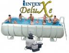 """בריכת שחיה Intex Ultra Frame 549X274X132 עם מסנן חול 0.5 כ""""ס"""