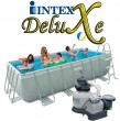 בריכת שחיה Intex Frame Pool 400X200X100 עם מסנן חול
