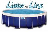 בריכת שחייה עגולה מדגם Limor Pool Line 330X100