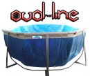 בריכת שחייה אובאלית מדגם Oval Pool Line 646X396X125