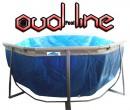 בריכת שחייה אובאלית מדגם Oval Pool Line 776X396X125