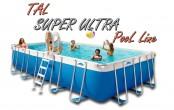 Tal Super Ultra 600X320X132 בריכה מלבנית