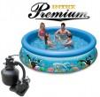 בריכת שחיה Intex Ocean Reef 305X76 Premium  עם מסנן חול