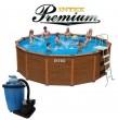 בריכת שחיה Intex  Sequoia  508X124 Premium  עם מסנן חול