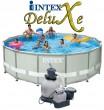 """בריכת שחיה Intex Ultra Frame 488X122 עם מסנן חול 0.5 כ""""ס"""