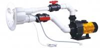 מערכת שחייה נגד הזרם כולל מערכת מסאג'   ג'ט ספיד