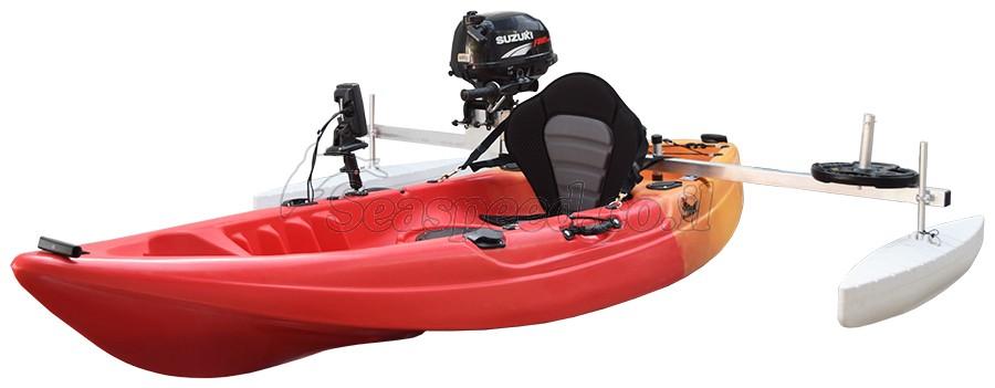 מייצבים לקיאק Baracuda כולל מאחז מנוע ומשקולת איזון