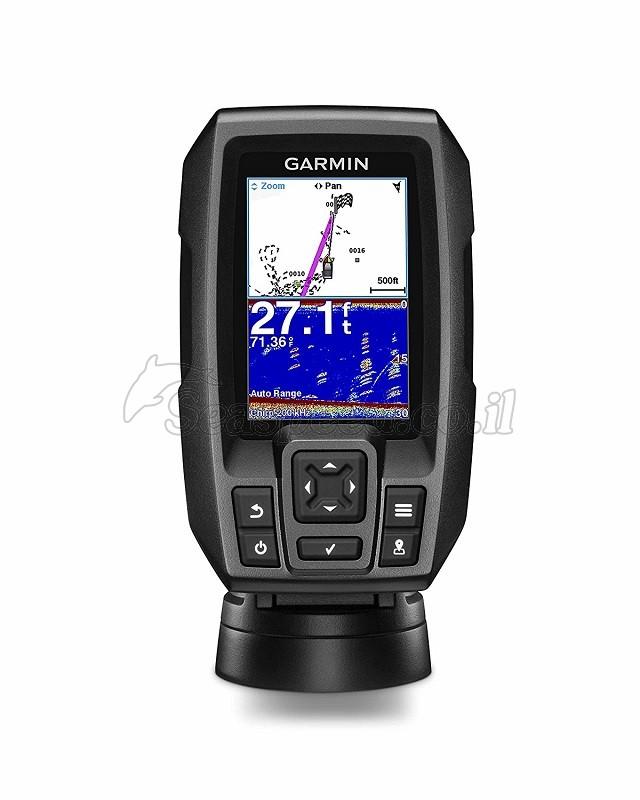 מגלה דגים משולב ג'י פי אס מתקדם דגם Striker 4 המכשיר כולל  FishFinder-Chirp + GPS