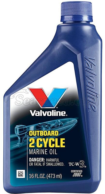 שמן TCW-3 למנועים ימיים שתי פעימות תוצרת Valvoline