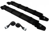 גגון רכב מתנפח מעצמו ללא משאבה הכולל רצועות קשירה והידוק באורך 5 מטרים ותיק נשיאה Inflatable Rack