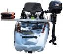 מאחז מנוע למנוע חשמלי או בנזין לקיאקים תוצרת FeelFree