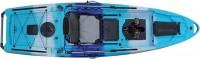 קיאק דיג מהיר הנעת פדלים וסנפירים מדגם Pedal Drive Wahoo