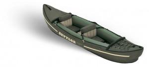 קיאק מתנפח זוגי לחתירה לדייג ולגלישת גלים Sevylor KEC79 כולל חבילת אבזור