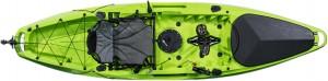 קיאק דיג מהיר הנעת פדלים וסנפירים מדגם Pedal Drive Sealion