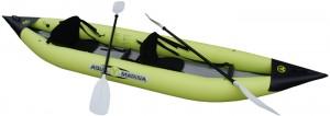 קיאק מתנפח מקצועי זוגי לחתירה וגלישת גלים K1 דגם BT-88860