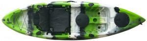 קיאק מתקדם מדגם Stinger לחתירה ספורט ודיג כולל כיסא דה לוקס וחבילת אבזור מפוארת
