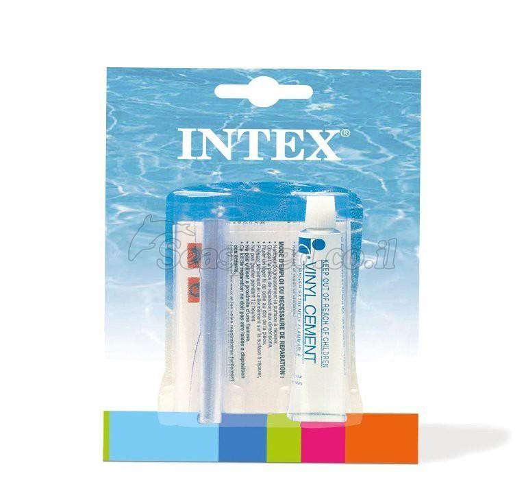 ערכה לתיקון סירות חובבים ומתנפחים תוצרת INTEX
