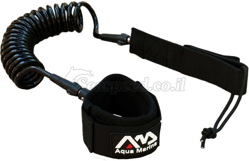 ליש רגל מקצועי ל- SUP גלשן עמידה תוצרת  AQUA MARINA