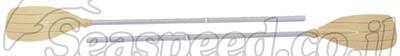 """זוג משוטי אלומיניום באורך 135 ס""""מ Sevylor"""