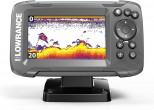 Lowrance HOOK2-4x GPS מגלה דגים משולב ג'י פי אס מתקדם עם מסך צבעוני כולל תפריט מלא בעברית