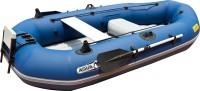 סירת דיג מקצועית Classic דגם BT-88890 כולל מאחז מנוע אחורי מקצועי מאסיבי למנוע חשמלי ובנזין