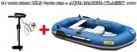 *מבצע מיוחד !!! סירת דייג וחתירה מתנפחת Aqua Marina Classic כולל מנוע חשמלי מקצועי 18 ליברות