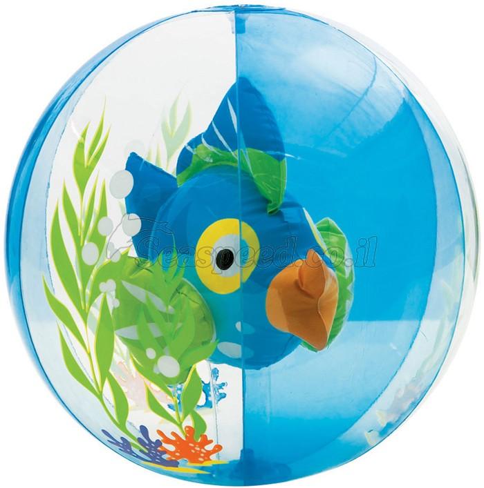 """כדור ים שקוף אקווריום עם פרצוף בקוטר 61 ס""""מ"""