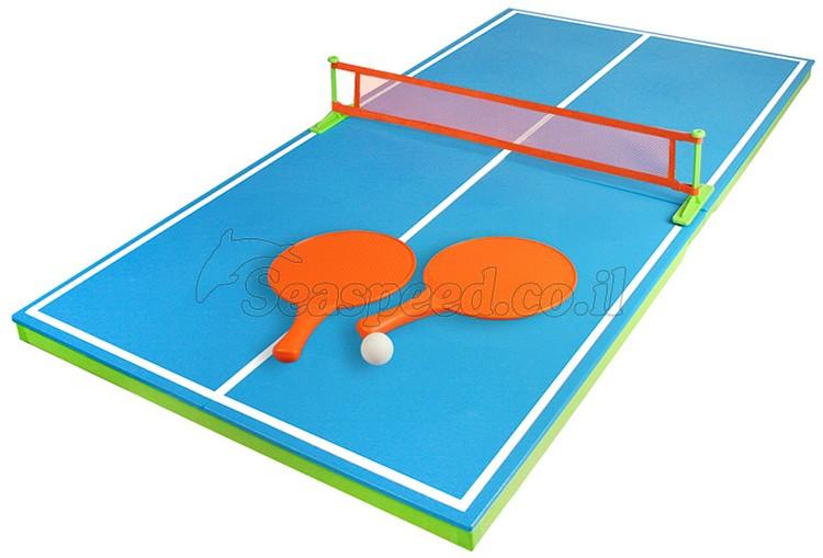"""משחק פינג פונג צף לבריכה כולל שני מחבטים רשת ושלוש כדורים מק""""ט 72726"""