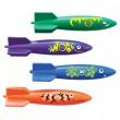 ארבעה טילי טורפדו במארז Toypedo Bandits תוצרת SwimWays