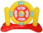 """משחק משפחתי לבריכה קליעה למטרה כדורי סקוץ נידבקים מק""""ט  56509"""
