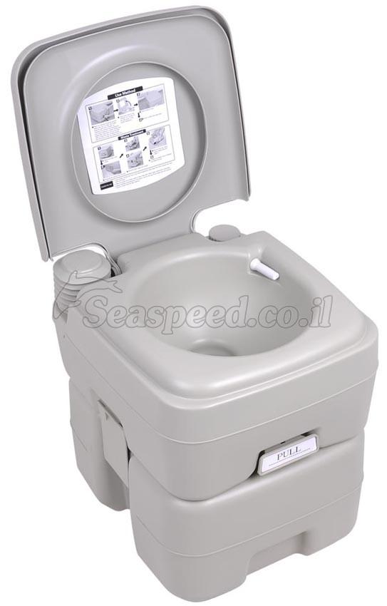 שירותים ניידים למחנאות קמפינג שירותים כימים 20 ליטר