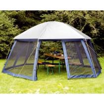 אוהל צל גזיבו סככת צל משושה דגם 15858