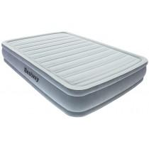 מזרון פרימיום זוגי רחב תוצרת Bestway כולל משאבת ניפוח אוויר חשמלית דגם 67490