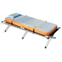 מיטת שדה מתקפלת איכותית מאלומיניום הכוללת תיק מזרון כרית עם ציפוי ומשאבת לניפוח אוויר