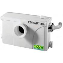 סילוקית  200  DAB  תוצרת איטליה  תחנת סילוק קטנה לסילוק שפכים ביוב  מקלחת וכיור