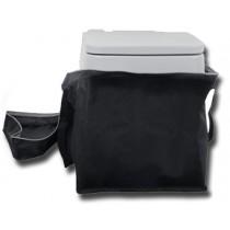תיק נשיאה לשירותים כימיים 10 ליטר כולל ידיות נשיאה נוחות וסגירה עליונה