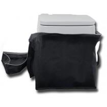 תיק נשיאה לשירותים כימיים 15 ליטר כולל ידיות נשיאה נוחות וסגירה עליונה