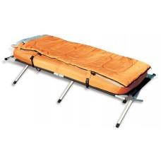 מיטת שדה מתקפלת איכותית מאלומיניום הכוללת תיק מזרון כרית שק שינה ומשאבת ניפוח אוויר