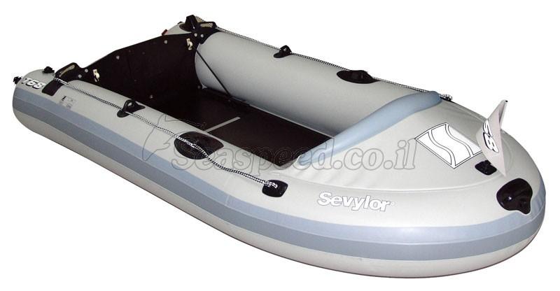 סירה מתנפחת המתאימה למטרות דייג חתירה ומנוע  Sevylor T68