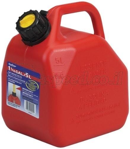 מיכל דלק נייד בנפח 5 ליטר