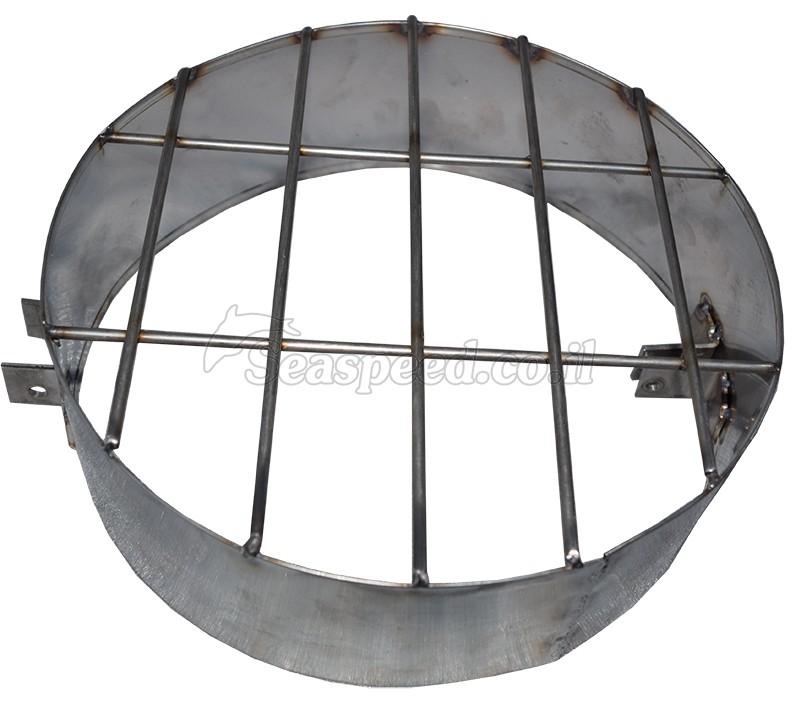 מגן מדחף מסורג להגנה על מדחף המנוע מנירוסטה