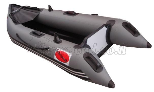 SK290 קיאק - סירה מקצועית עם רצפה מתנפחת בלחץ גבוה למנוע חתירה ודיג