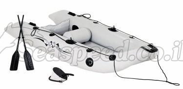 סירה מתנפחת המתאימה למטרות דייג חתירה ומנוע  Sevylor SVX250