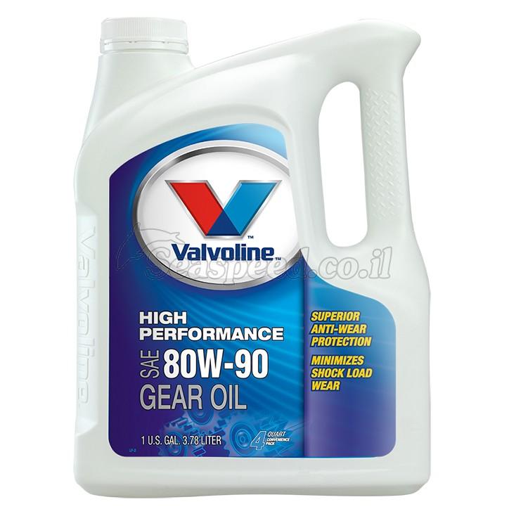 שמן GL-4 80W-90 גיר למנועים ימיים תוצרת Valvoline