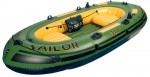 סירה מתנפחת המתאימה למטרות דייג חתירה ומנוע  Sailor 310