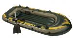 סט סירת גומי מתנפחת כולל משוטים ומשאבת אוויר Seahawk 400 Set