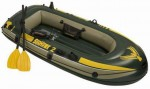 סט סירת גומי מתנפחת כולל משוטים ומשאבת אוויר Seahawk 200 Set